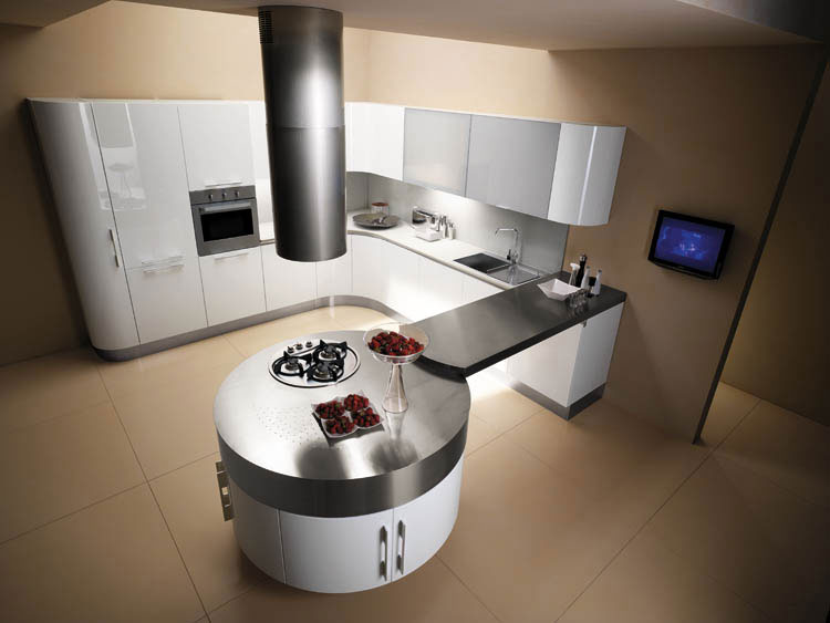 Cuisine Moderne Design Luxe Ide En Photo