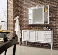 salle de bain rustique cottage