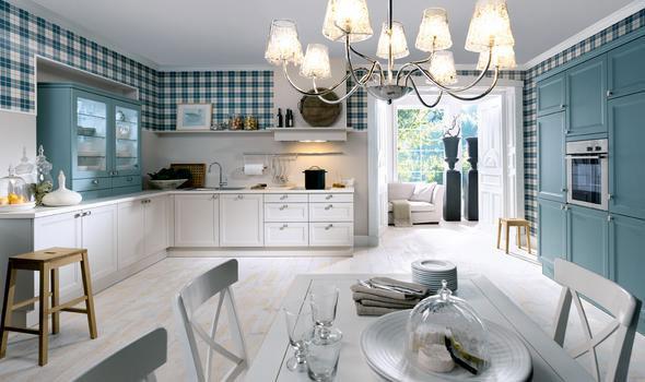 Cuisine rustique cottage campagnarde - Kamer comtemporaine ...