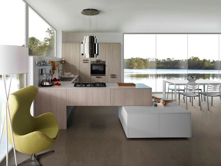 Photo de cuisine moderne et design - Cuisine des sables voiron ...
