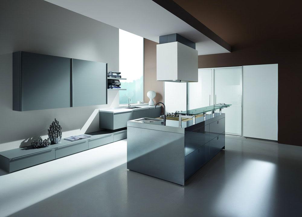 Votre cuisine moderne - Table cuisine moderne design ...