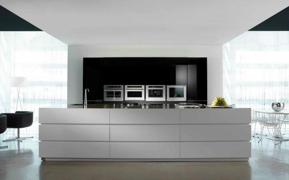 Cuisine italienne moderne deco cuisine ilot central for Deco cuisine italienne