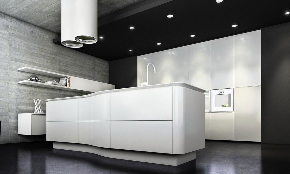 cuisine de luxe haut de gamme de prestige ronde et design. Black Bedroom Furniture Sets. Home Design Ideas