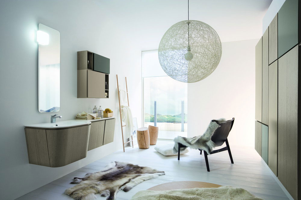 Salle de bain luxe haut de gamme - Bagno in camera misure minime ...