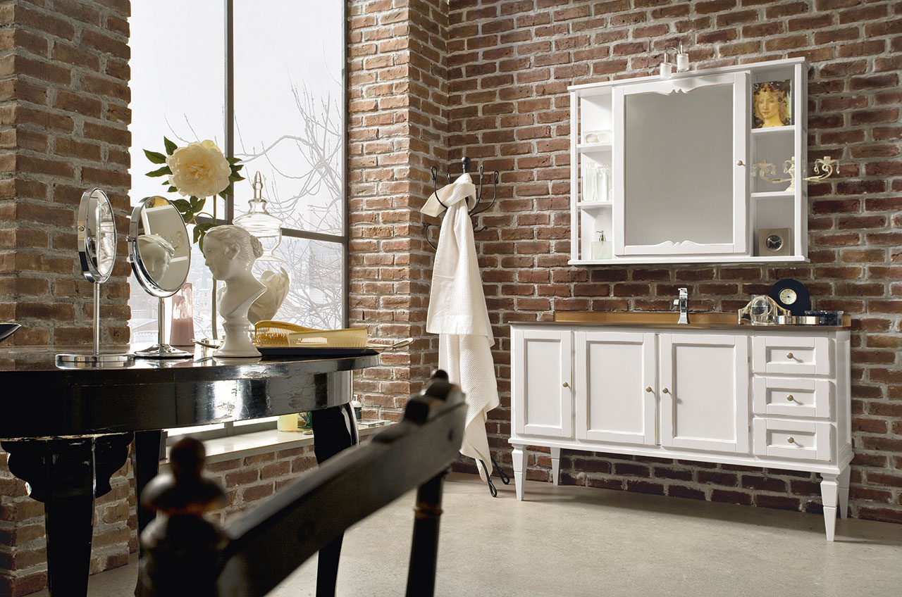 salle de bain rustique cottage york - Salle De Bain Rustique Photos